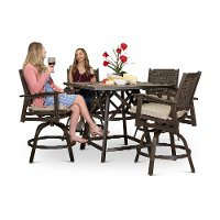 Ash Outdoor Pub Dining Set - Glenwood