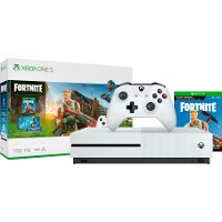 XB1 MIC 234703 Fortnite 1TB Xbox One S Bundle - White