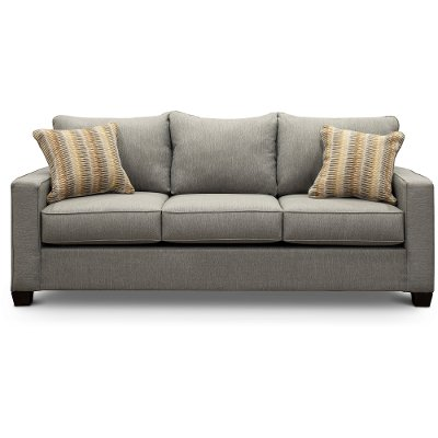 Contemporary Stone Gray Sofa - Gavin