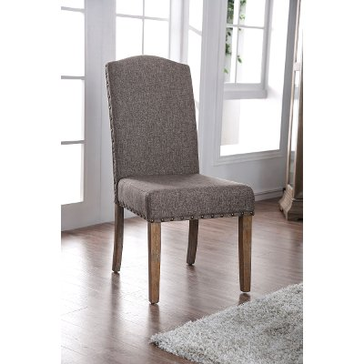 Gray Upholstered Dining Room Chair - Bridgend
