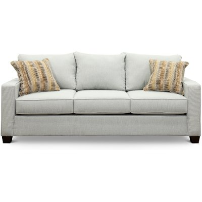 Contemporary Sky Gray Sofa Bed - Gavin