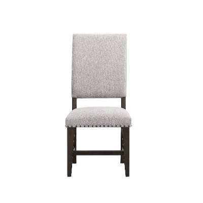 Gray/Brown and Beige Upholstered Dining Chair - Revolution