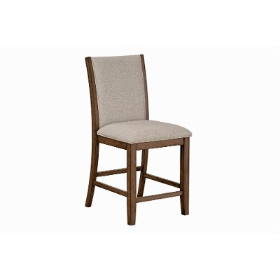 636f180cfcb7f9 Brown and Gray Upholstered Counter Height Stool - Keystone | RC ...