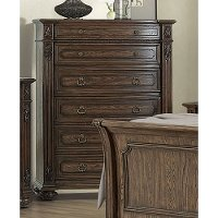 Traditional Brown Chest of Drawers - Tuscany Pointe