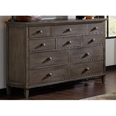 Classic Gray Dresser - Mount Holly