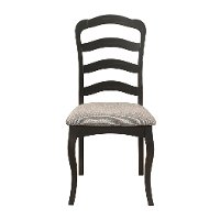 Traditional Brown Upholstered Dining Room Chair - Glenallen
