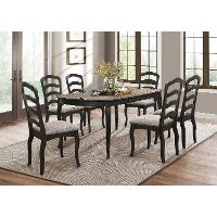 Traditional Two-Tone Brown 5 Piece Dining Set - Glenallen
