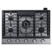 NA30N9755 Samsung Chef 30 Inch Gas Cooktop - Stainless Steel