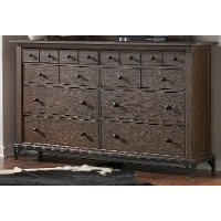 Classic Brown Dresser - Stone Mountain