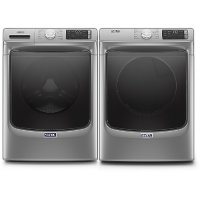 KIT Maytag Laundry Pair with Front Load Washing Machine and Gas Dryer - Metallic Slate