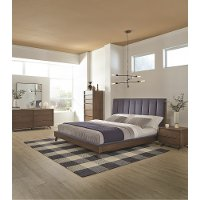 Mid Century Modern 4 Piece King Bedroom Set - Kamden