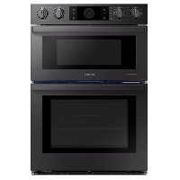 NQ70M9770DM Samsung Chef 30 Inch Combination Wall Oven with Microwave - 7.0 cu. ft. Matte Black Stainless Steel