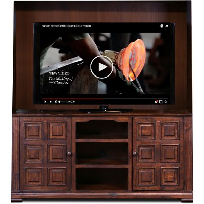 Brown 66 Inch TV Console - Marquis