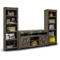 Driftwood Gray 60 Inch Entertainment Center - Castle Creek
