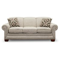 Casual Classic Earth Beige Sofa - Monroe
