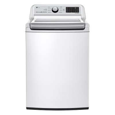 WT7300CW LG 5.0 cu. ft. Top Load Washer with TurboWash3D - White