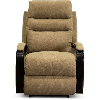 Tumbleweed Brown Lay Flat Power Recliner - Jansen