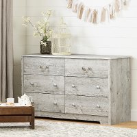 11889 Coastal Seaside Pine Dresser - Aviron