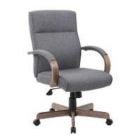 Slate Gray Office Chair - Modern Executive Series