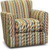 Contemporary Multi Striped Accent Chair - Owen