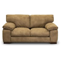 Casual Contemporary Taupe Loveseat - Paige