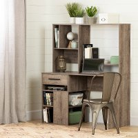 11928 Weathered Oak Home Office Computer Desk - Annexe