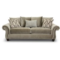 Traditional Taupe Sofa - Richmond
