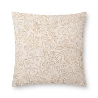 P6030-RP-IVORY Ivory Cotton Throw Pillow