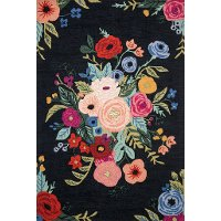 5 x 8 Medium Bright Floral Area Rug - Les Fleurs