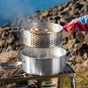 DP10 Camp Chef 10.5 Quart Aluminum Frying Pot Set