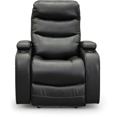 Black Power Home Theater Recliner - Cinema