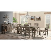 Roasted Oak 5 Piece Dining Set - Balboa Park
