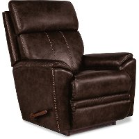 P1M-754/LB159079 Chestnut Brown Rocker Recliner with Massage and Heat - Talladega