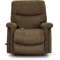 1M-729/D160678 Sable Brown Rocker Recliner with Massage and Heat - Baylor