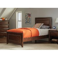 Classic Maple Oak Twin Bed - Frankfort