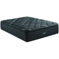 700810424-1020 Beautyrest Black Plush Pillow Top Twin-XL Mattress - C-Class