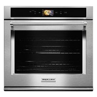 KOSE900HSS KitchenAid 30 Inch Smart Single Wall Oven - 5.0 cu. ft. Stainless Steel
