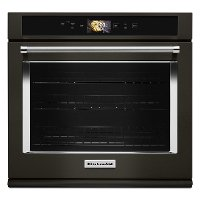 KOSE900HBS KitchenAid 30 Inch Smart Oven+ Single Wall Oven - 5.0 cu. ft. Black Stainless Steel