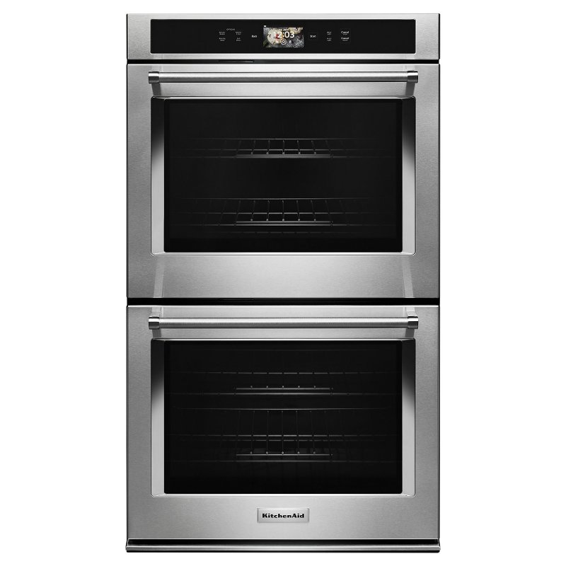 KODE900HSS KitchenAid 30 Inch Smart Oven+ Double Wall Oven   10 Cu. Ft.  Stainless