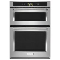 KOCE900HSS KitchenAid 30 Inch Smart Combination Wall Oven with Microwave - 6.4 cu. ft. Stainless Steel