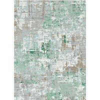 8 x 11 Large Igneous Jade Area Rug - Enigma