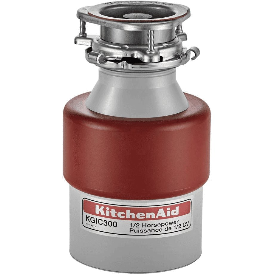 KitchenAid 1/2 HP Continuous Feed Food Disposer