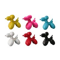 Assorted Multi Color Balloon Dog Sculpture
