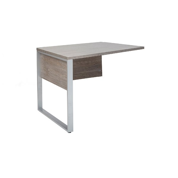 Gray Home Office Desk Return   Kalmar ...