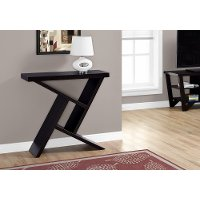 Cappuccino 36 Inch Accent Table