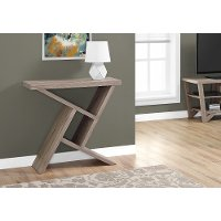 Dark Taupe 36 Inch Accent Table