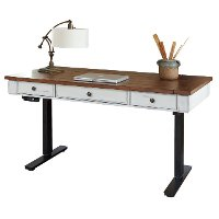 Country Adjustable Sit/Stand Desk - Durham