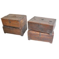 Assorted Wooden Antique Box