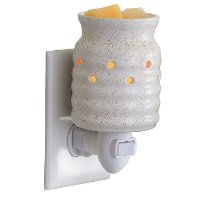 White Farmhouse Pluggable Fragrance Warmer - Candle Warmers