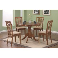 Casual Light Brown Dining Room Chair (Set of 2) - Anik
